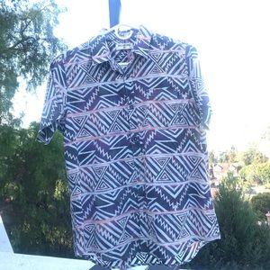 Billabong button front boys shirt
